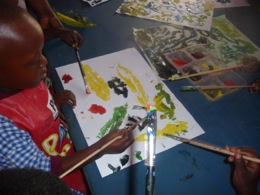 preschool-child-painting