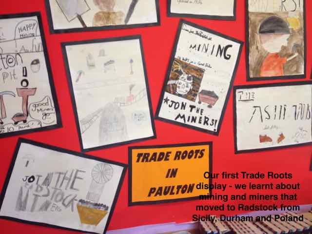 Our Trade Roots Display about mining